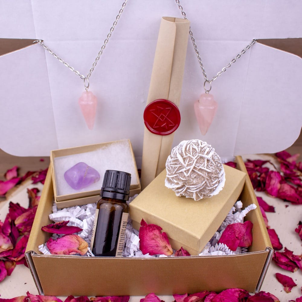 Valentine's Day Crystal Love Box